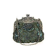 baratos Clutches & Bolsas de Noite-Mulheres Bolsas Poliéster Bolsa de Festa Flor Sólido Azul Profundo / Vinho / Ametista