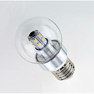 3W LED-globepærer 25 SMD 2835 450 lm Varm hvit Hvit AC 220-240 V