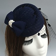 Til Fascinators kape Vjeverica kose with Perje 1 Zabave Glava