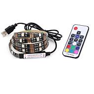 BRELONG® 2m RGB-kontroller 60 lysdioder 5050 SMD RGB 5 V / IP65