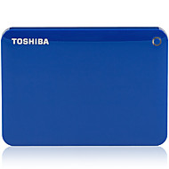 Toshiba v8 canvio 2.5 inch hard disk mobil usb3.0 2tb albastru