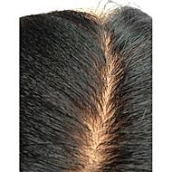 cheap Human Hair Wigs-Women Human Hair Lace Wig Silk Base Full Lace 130% Density Kinky Straight Wigs Brazilian Hair Black Medium For Black Women