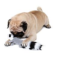 hesapli Kedi Oyuncakları-Peluş Oyuncaklar Ses Çıkaran Oyuncaklar Tatlı Ses Çıkaran Sincap Sincap Kumaş Uyumluluk Kedi Köpek