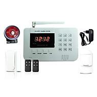 433MHz SMS Telefon Dálkové ovládání panel Klávesnice 433MHz GSM TELEFON zvuková signalizace Telefon Alarm SMS Alarm Home signalizace Y