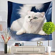 tanie Dekoracje ścienne-Animals Dekoracja ścienna 100% Polyester Prosty Urocza Wall Art, Ścienne Gobeliny Dekoracja