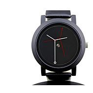 Pánské Módní hodinky Křemenný Voděodolné Pryž Kapela Černá Bílá