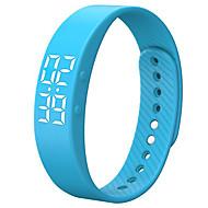tanie Inteligentne zegarki-Inteligentne Bransoletka Wodoszczelny Spalone kalorie Krokomierze Rejestr ćwiczeń Śledzenie odległości Sportowy Rejestrator aktywności