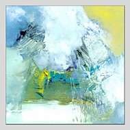 cheap Oil Paintings-Oil Painting Hand Painted - Abstract Comtemporary Canvas
