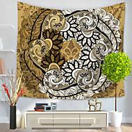 tanie Dekoracje ścienne-Abstrakt Dekoracja ścienna 100% Polyester Nowoczesny Wall Art, Ścienne Gobeliny Dekoracja