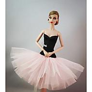 Prinsesse Kjoler Til Barbiedukke Til Pigens Dukke Legetøj
