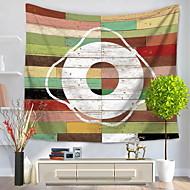 tanie Dekoracje ścienne-Żeglarskie Dekoracja ścienna 100% Polyester Wzorzysty Wall Art, Ścienne Gobeliny Dekoracja