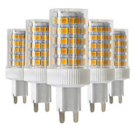 10W G9 LED Bi-pin Lights T 86 SMD 2835 850-950 lm Warm White Cold White Natural White 2800-3200/4000-4500/6000-6500 K Dimmable V