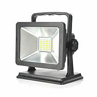 baratos Focos-1pç 15 W Focos de LED Impermeável / Criativo / Regulável Branco Quente / Branco Frio / Vermelho 100-240 V Iluminação Externa