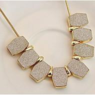 Pentru femei Coliere Choker Lănțișoare Coliere Ștras imitație de diamant Geometric Shape AliajDesign Basic Design Unic Stil Logo Stil
