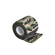 Tacou de unică folosință mâner acoperă auto-adeziv bandaj elastic de camuflaj culoare 5 * 450cm