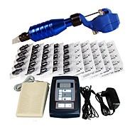 High Level Tattoo Kit Zebra With Digital Power Cord Inks Switch G1I164-A1