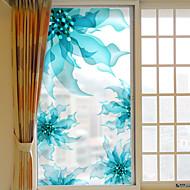Flora/Botanisch Raamsticker,PVC/Vinyl Materiaal raamdecoratie