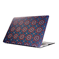 """tanie Akcesoria do MacBooka-MacBook Futerał na Geometryczny wzór Kwiaty Plastikowy Nowy MacBook Pro 15"""" Nowy MacBook Pro 13"""" MacBook Pro 15 cali MacBook Air 13 cali"""