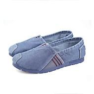 Homme Chaussures Tissu Printemps Automne Confort Semelles Légères Mocassins et Chaussons+D6148 Marche Pour Décontracté Gris Bleu marine