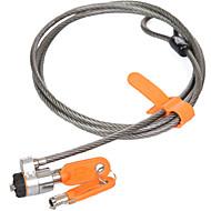 Kensington k64186 chave de mecânica do aço carbono desbloqueio bloqueio do laptop bloqueio do negócio bloqueio do programa comprimento da
