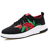 Muškarci Cipele Svinjska koža Proljeće / Jesen Udobne cipele Sneakers Obala / Crn
