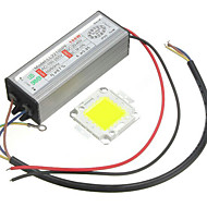 1pc high power 100w led SMD chip lamp met waterdichte driver supply
