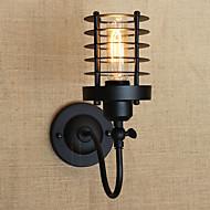 AC 220-240 AC 110-130 40 E26/E27 Vintage Land Maleri Trekk for Mini Stil Pære inkludert,Atmosfærelys Vegglampe