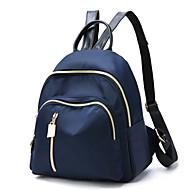 baratos Mochilas-Mulheres Bolsas Poliéster Bolsa de Ombro para Ao ar livre / Escritório e Carreira Azul / Preto / Roxo