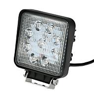 Kkmoon 27w led carro luz barra de trabalho 5.5 polegadas 2025lm spot feixe para jeep 4x4 offroad atv caminhão suv 12v 24v