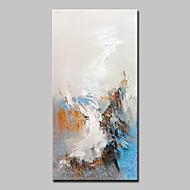 halpa -Maalattu Abstrakti Pysty,Abstrakti Moderni 1 paneeli Kanvas Hang-Painted öljymaalaus For Kodinsisustus