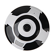 billige Innendørs IP Nettverkskameraer-VESKYS 1.3mp IP Camera Innendørs with Zoom / IR-kutt 128GB / Mini / CMOS / Dynamisk IP-adresse / iPhone OS / Android