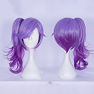 Purple Ombre Wig with Ponytails Halloween Cosplay Party Wig Heat Resistant