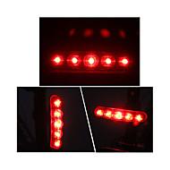 billige Sykkellykter og reflekser-Baklys til sykkel LED Sykling Utendørs AAA Lumens Batteri Rød Sykling