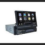 7 tommer (ca. 18cm) 1 Din 800 x 480 Windows CE 6.0 Windows CE Bil DVD-afspiller for Universel Indbygget bluetooth GPS iPod RDS Ratstyring