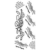 billiga Tatuering och body art-1 pcs Tatueringsklistermärken tillfälliga tatueringar Vattentät Body art händer / arm / handled