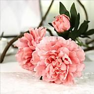 5 deler 5 Gren Silke Peoner Bordblomst Kunstige blomster