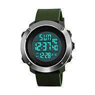 SKMEI Mulheres Relogio digital Relógio de Pulso Relógio Militar Relógio de Moda Relógio Esportivo Japanês Digital Alarme Calendário