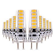 billiga Belysning-YWXLIGHT® 10pcs 4W 300-400lm LED-lampor med G-sockel T 12 LED-pärlor SMD 5730 Bimbar Dekorativ Varmvit Kallvit 12V 12-24V
