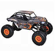 RC Car WL Toys 10428-E 2.4G 4WD High Speed Drift Car Off Road Car Rock Climbing automobila Buggy (terenski) 1:10 18 Km / h Daljinsko