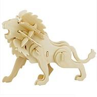Puzzle 3D Puzzle Μοντέλα και κιτ δόμησης Jucarii Leu Animal 3D Reparații Unisex Bucăți
