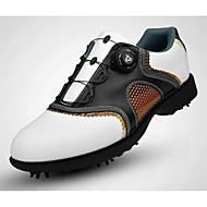Pantofi de Golf Bărbați Golf Purtabil Respirabil Antrenament Casual Sport exterior Performanță Practică Sport Nappa Leather Piele Cauciuc