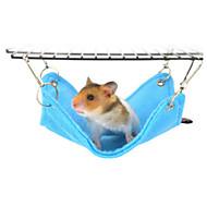 Hamsteri Plyysi Sängyt Sininen Pinkki