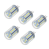5W G4 LED betűzős izzók T 18 led SMD 2835 Meleg fehér Hideg fehér 450-550lm 2700-6500