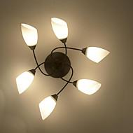 billige Taklamper-6-Light Takplafond Omgivelseslys - Anti-refleksjon, Mini Stil, 220V / 110V Pære ikke Inkludert / 10-15㎡ / E26 / E27