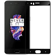 billiga Mobiltelefoner Skärmskydd-Skärmskydd OnePlus för One Plus 5 Härdat Glas 1 st Heltäckande displayskydd Reptålig Explosionssäker 9 H-hårdhet Högupplöst (HD)