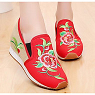 flancurile pentru femei& loafers tesatura practic plat alb negru rosu