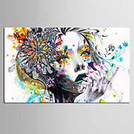 Művészi nyomat Emberek Modern,Egy elem Vízszintes Nyomtatás fali dekoráció For lakberendezési