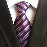 tanie Akcesoria dla mężczyzn-Męskie Neckwear Prążki Krawat Prążki