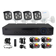 Yanse® 4 ch 960p CCTV kamera ahd kitleri ir renk su geçirmez güvenlik kameraları sistem ev 1.3mp ahd-m