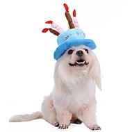 Pas Marame i kape Odjeća za psa Kamado roštilj Cosplay Moda Halloween Pismo i broj Plava Pink Kostim Za kućne ljubimce